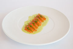 salmone crudo del ‹del †Fotografia Stock