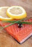 salmone crudo fresco Fotografia Stock Libera da Diritti