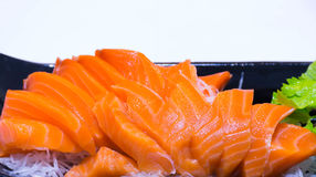 Salmone dei sushi fotografie stock