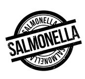 Salmonella rubber stamp Royalty Free Stock Images