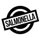 Salmonella rubber stamp Stock Images