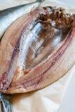 Salmones curados de la Isla de Man Imagen de archivo