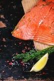 Salmones salados Foto de archivo