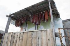 Salmones secados Foto de archivo libre de regalías