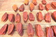 Salmonete listrado seco, Formosa Fotografia de Stock Royalty Free