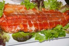 Salmoni Fotografie Stock
