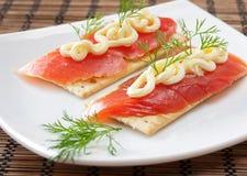 Salmoni. Immagine Stock Libera da Diritti