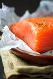 Salmoni affumicati Fotografie Stock