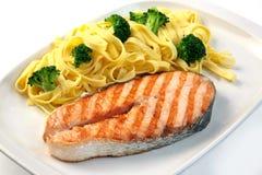 Salmoni cotti Immagini Stock