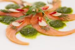 Salmoni piccanti Fotografie Stock Libere da Diritti