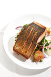 Salmoni Seared Immagini Stock