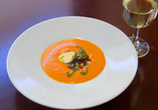Salmorejo cordobes Royalty Free Stock Photography