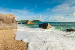 Salmoura da praia Imagens de Stock Royalty Free