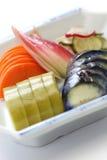 Salmouras japonesas caseiros, tsukemono Fotos de Stock Royalty Free