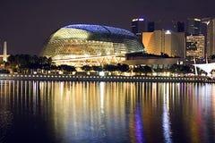 Salón de conciertos de Singapur Foto de archivo libre de regalías