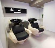 Salón de la peluquería Imagen de archivo libre de regalías