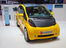 Salón del automóvil 2011 de Ginebra Foto de archivo libre de regalías