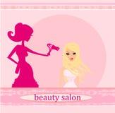 Salón del peluquero Foto de archivo libre de regalías