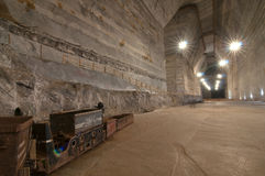 Salnic Prahova salt mine Royalty Free Stock Image