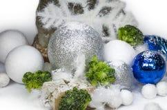 Salo盐石头冬天 库存图片