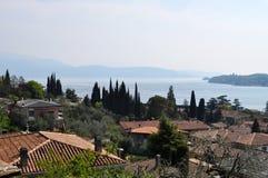 Salo,加尔达湖,意大利 库存照片