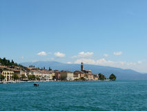 Salo at the border of Lake Garda Stock Photography