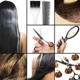 Salão de beleza de cabelo Imagens de Stock