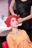 Salão de beleza de cabelo Imagens de Stock Royalty Free