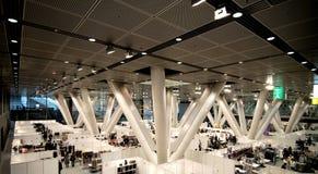 Salão de exposição subterrâneo Fotografia de Stock Royalty Free