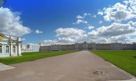 Salão do palácio de Katherine em Tsarskoe Selo (Pushkin), Rússia Imagem de Stock Royalty Free