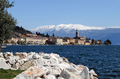 Salo at Lake Garda Stock Images