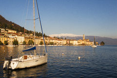 Salo at lake Garda - Italy Royalty Free Stock Images