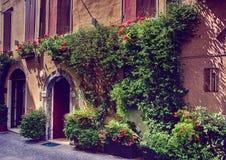 Salo on Lake Garda Italy Stock Photography