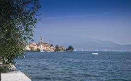 Salo on Lake Garda Italy Royalty Free Stock Images