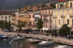 Salo on Lake Garda Italy Stock Photo