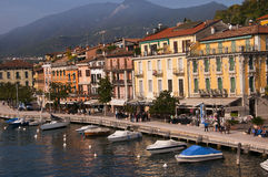 Salo on Lake Garda Italy Stock Image