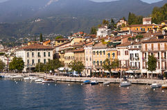 Salo on Lake Garda in Northern Italy Royalty Free Stock Photos
