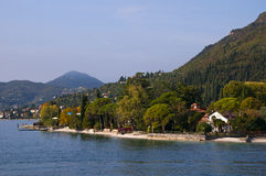 Salo on Lake Garda in Northern Italy Royalty Free Stock Image