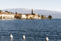 Salo on Lake Garda Stock Photo