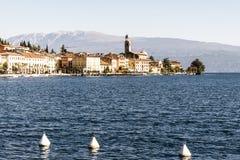 Salo on Lake Garda Stock Photo