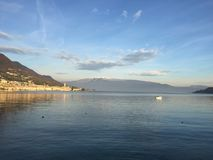 Salo and lake Garda view Royalty Free Stock Photo