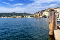 Salo lakeside, Garda Lake, Italy Stock Photography