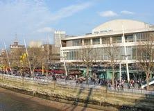 Salão real do festival, banco sul de Londres Fotos de Stock Royalty Free