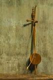 Saloa di natura morta - strumento musicale tailandese Fotografie Stock Libere da Diritti
