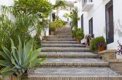 Salobrena, Andalusien, Spanien lizenzfreie stockfotos