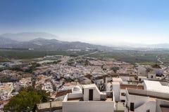 Salobrena i Spanien Fotografering för Bildbyråer