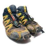 Salomon śladu działający buty Obraz Stock