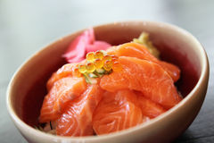 Salomon sushi rice don Stock Images