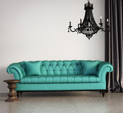 Salon élégant classique de vintage Photographie stock libre de droits