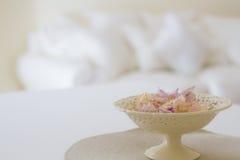 Salon étroit des fleurs Photographie stock libre de droits